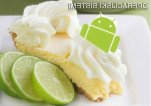 Google naj bi novi mobilni operacijski sistem Android poimenoval z oznako Lemon Meringue Pie.