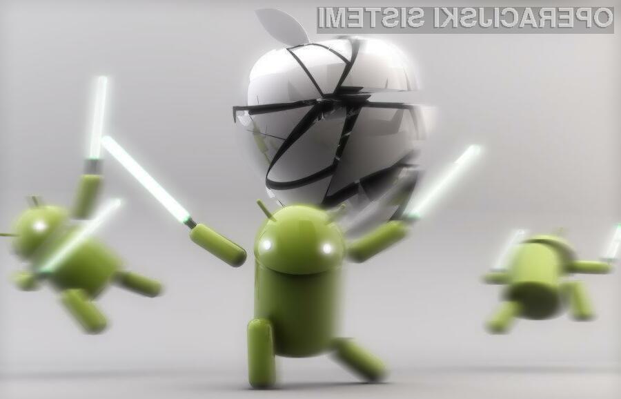 Android je po podatkih Net Applications prvič prehitel iOS glede na uporabo.