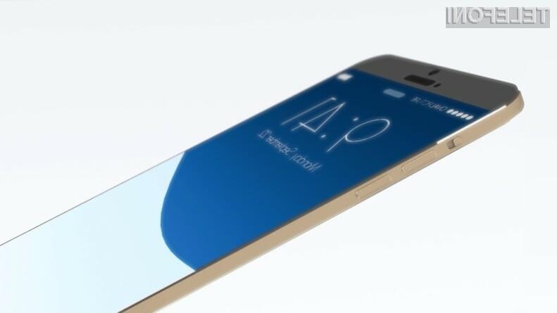 Apple naj bi pametni mobilni telefon iPhone 6 javnosti razkril že 9. septembra!
