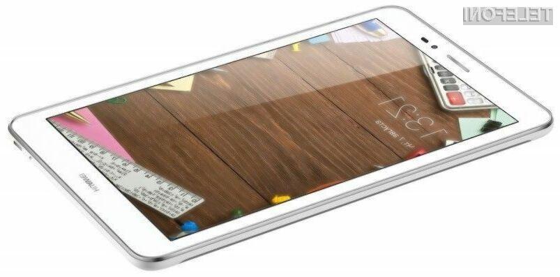 Tablični računalnik Huawei MediaPad T1 8.0 vsaj glede na ceno ponuja veliko.
