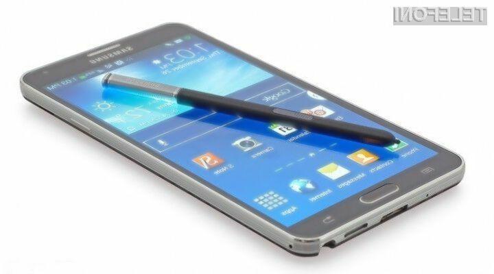 Mobilnik Samsung Galaxy Note 4 bo prodajne police trgovin ugledal že v prvi polovici jeseni!