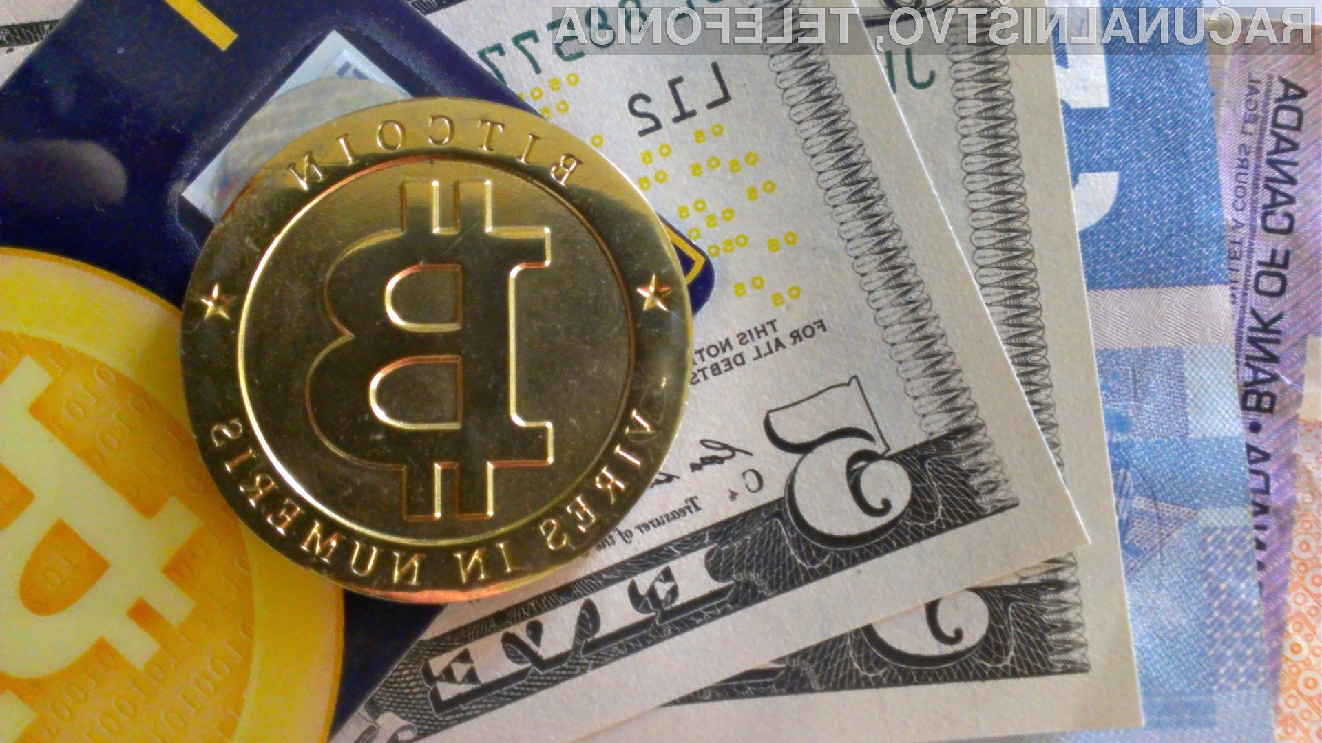 V Sloveniji delavec osnovne plače vsaj zaenkrat še ne more prejemati v Bitcoinih.