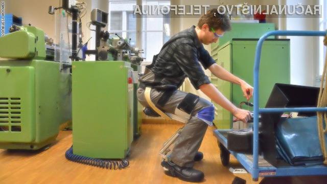 Nosljiva stolica bo marsikateremu delavcu poenostavila vsakdanje delo.