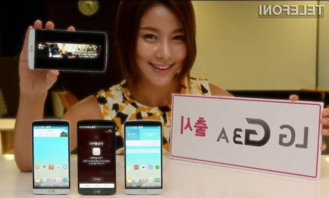 LG presenetil z mobilnikom G3 A