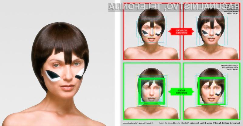Ličila, pričeske in modni dodatki so dovolj za prelisičenje naprednih sistemov za prepoznavo obraza.