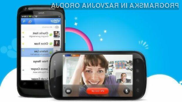 Microsoft bo uporabnikom starejših mobilnih naprav Android kmalu onemogočil uporabo storitve Skype.