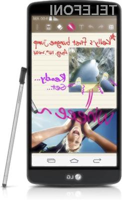 LG G3 Stylus ugledal luč sveta!