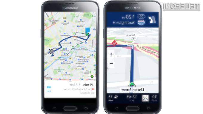 Pametni mobilni telefoni Samsung Galaxy bodo kmalu bogatejši za Nokijin navigacijski sistem HERE.