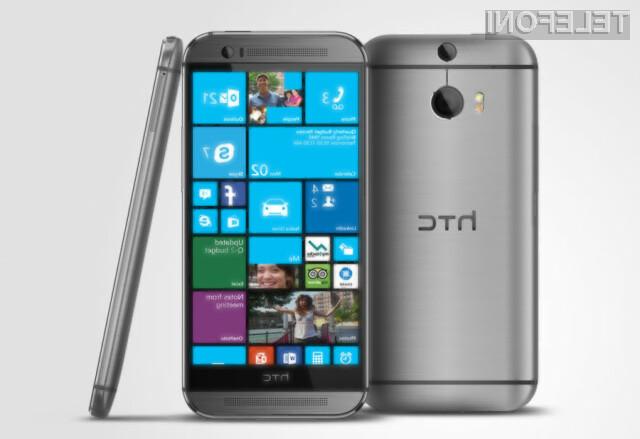 Mobilni operacijski sistem Windows Phone 8.1 se odlično prilega mobilniku One (M8).