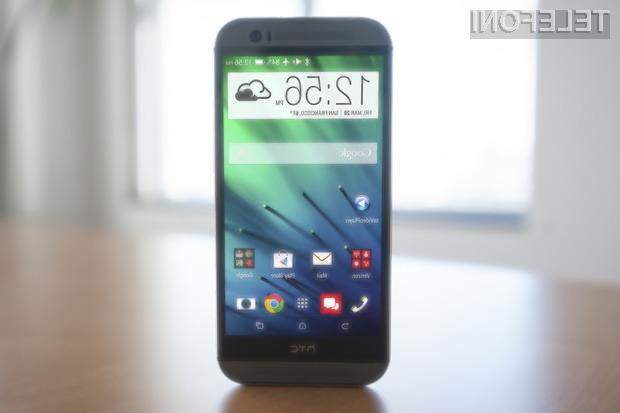 HTC One (M8) Max naj bi zlahka prepričal tudi najzahtevnejše uporabnike storitev mobilne telefonije!