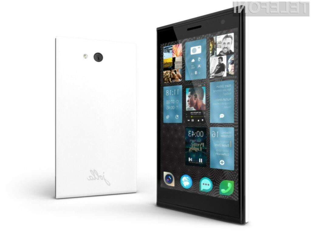 Oblikovno všečni mobilnik Jolla Phone je pisan na kožo vsem, ki želijo izstopati v množici.