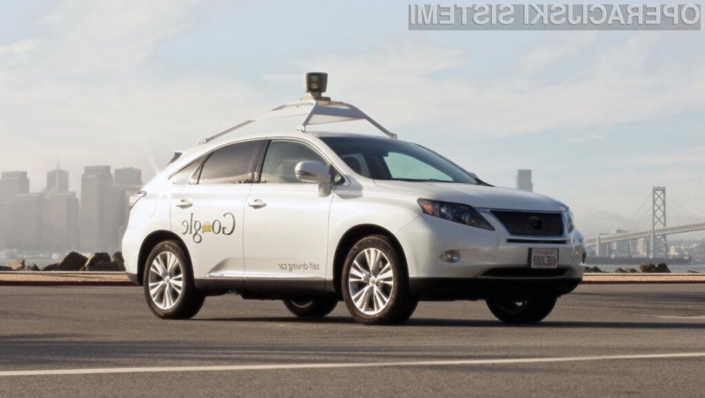 Googlova vozila ne bodo upoštevala hitrostnih omejitev