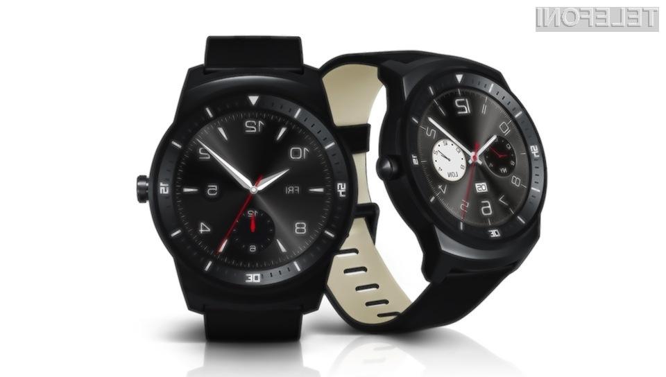 LG G Watch R: Zanimiva pametna ročna ura z okroglim zaslonom