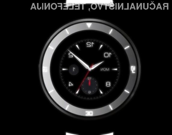 Pametna ročna ura LG G Watch R naj bi v celoti »posnemala« Motorolin izdelek Moto 360!