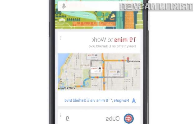 Google Now Zaganjalnik se odlično prilega pametnim mobilnim telefonom in tabličnim računalnikom Android.