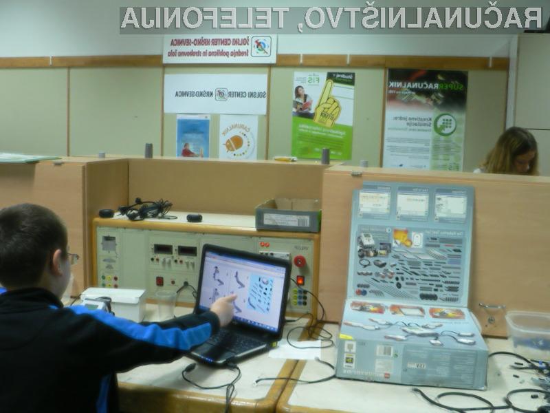 Čarunalnikova poletna šola programiranja in robotike