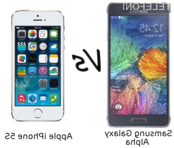 Samsung Galaxy Alpha Vs. iPhone 5S