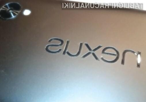 Google naj bi 10,3-palčno tablico Nexus Foo javnosti razkril že konec leta.