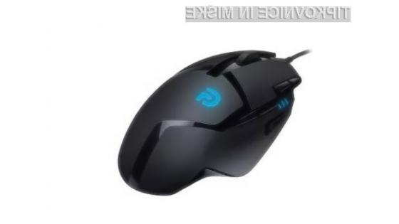 Računalniška miška Logitech G402 Hyperion Fury se najbolje znajde v prvoosebnih strelskih igrah.