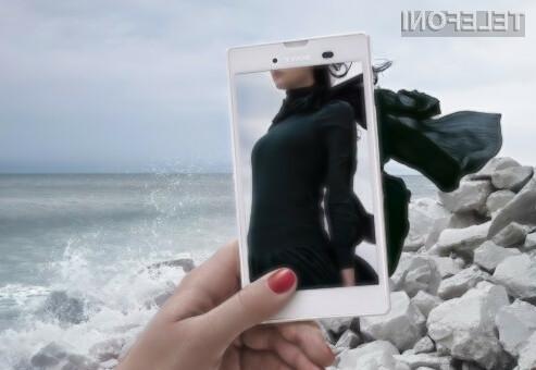 Vrhunski mobilnik Sony Xperia T3 bo na voljo tako s črno kot belo obarvanim ohišjem!