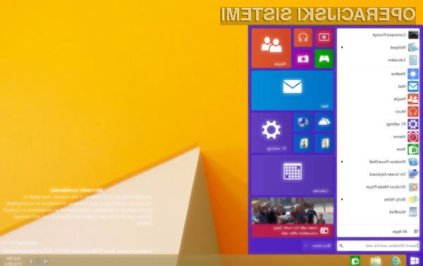 Windows 9 skoraj zastoj za uporabnike sistemov Windows XP in Windows 8