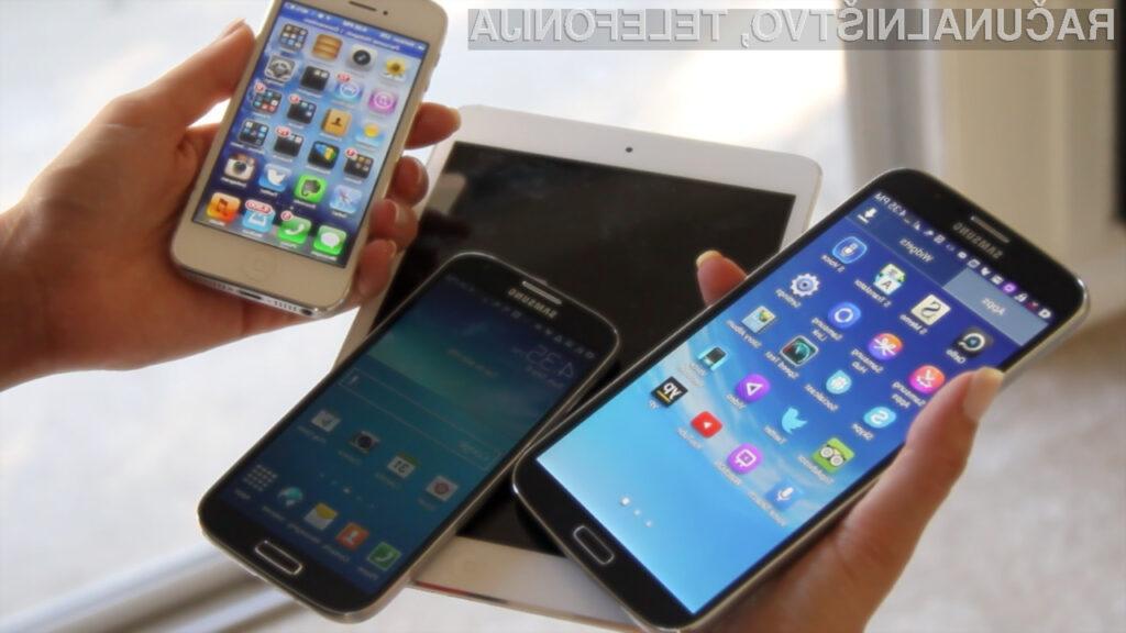 Prodaja mobilnih telefonov raste, prodaja tablic se umirja