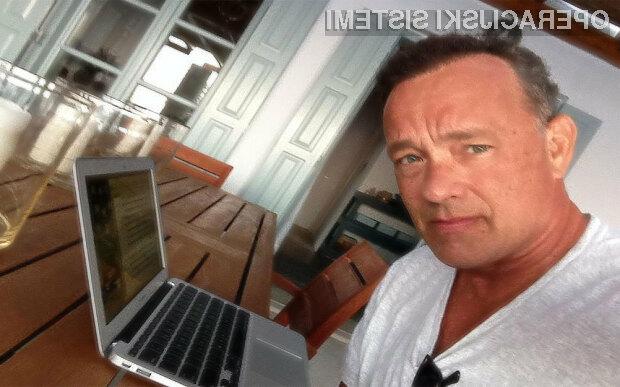 Aplikacija znanega igralca Toma Hanksa, Hanx Writer, se je v samo štirih dneh povzpela na vrh lestvice prenosov v spletni trgovini App Store.