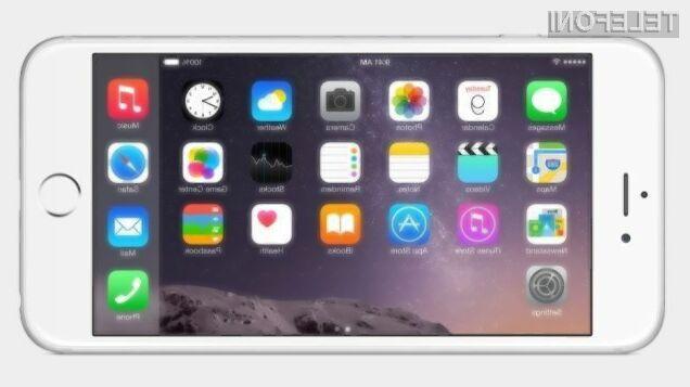 Applov iOS8 s pospešenim tempom izpodriva »zastareli« iOS 7!