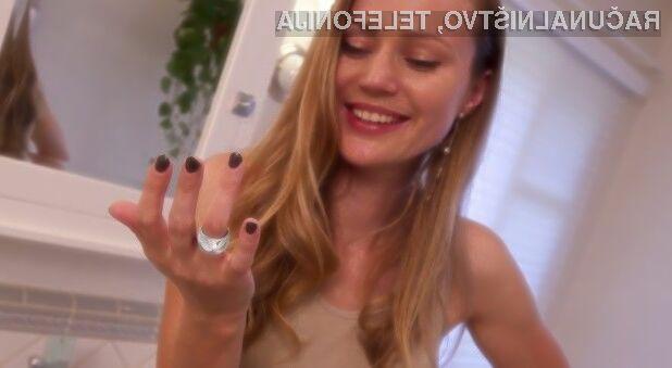 Pametni prstan je za prejemanje obvestil veliko bolj praktičen od pametne ure ali pametne zapestnice.