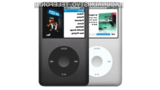 Klasični večpredstavnostni predvajalnik iPod je podjetje Apple potegnil iz rdečih številk in ga popeljal na pota slave!