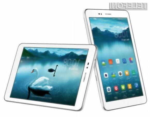 S tablico Huawei Honor Tablet lahko opravljamo telefonske pogovore in pošiljamo kratka sporočila SMS.