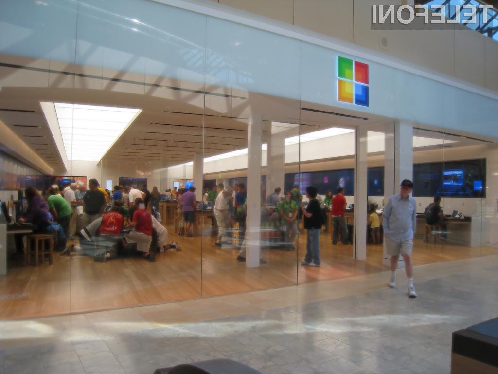 Microsoft z novo prodajalno