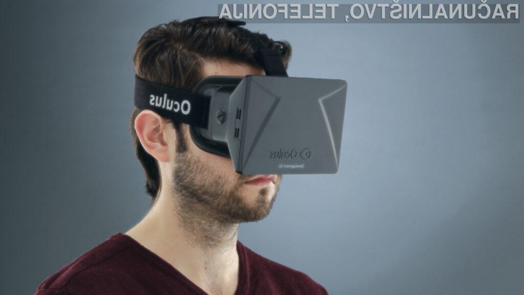 Virtualna očala Rift za največ 300 evrov