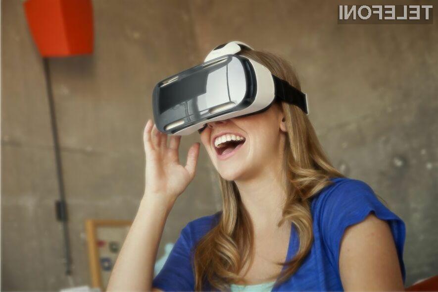 Zasebni zaslon Samsung Gear VR bo zlahka prepričal ljubitelje sodobne tehnologije.