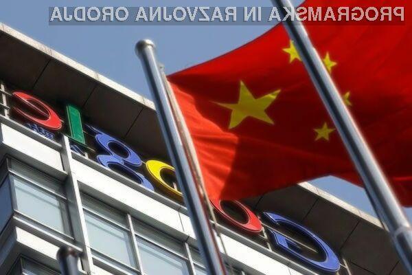 Novo cenzuriranje svetovnega spleta na kitajskem bo zdaleč najbolj prizadelo podjetje Google!