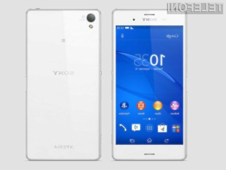 Če veliko časa preživite na pametnem mobilnem telefonu je mobilnik Sony Xperia Z3 nedvomno prava izbira za vas!