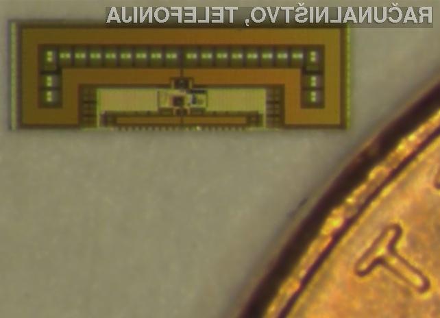 Miniaturno radijsko čipovje ima praktično neomejeno avtonomijo delovanja!