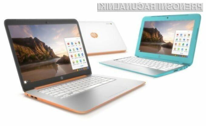 HP napada z novimi prenosniki Chromebook