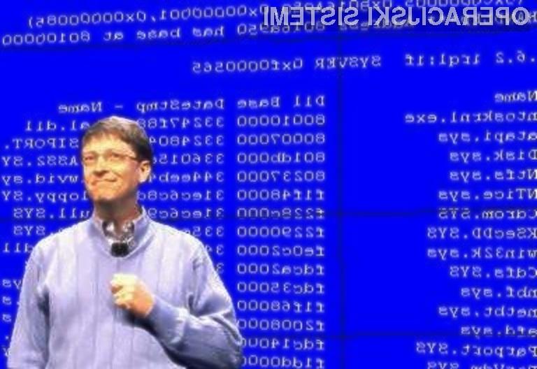 Sporočilo, ki je spremljalo legendarni modri zaslon smrti do operacijskega sistema Windows 8, je »spesnil«  Steve Ballmer.