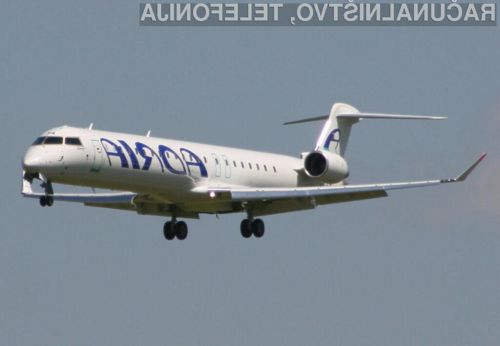 Potniki Adrie Airways lahko odslej manjše mobilne naprave uporabljajo tudi med vzletanjem in pristajanjem.