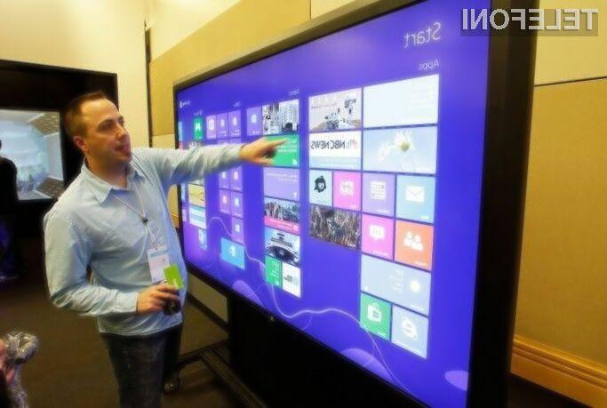 Podjetje Microsoft naj bi kmalu ponudilo v prodajo cenovno nadvse zanimive na dotik občutljive zaslone Perceptive Pixel.