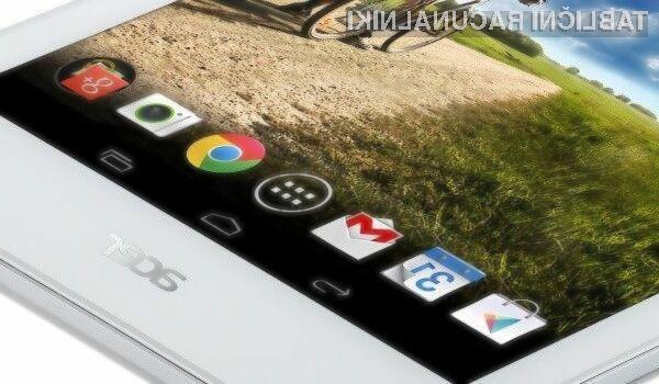 Tablica Acer Iconia B-810 se bo na račun nizke cene zlahka prikupila marsikateremu uporabniku tabličnih računalnikov.