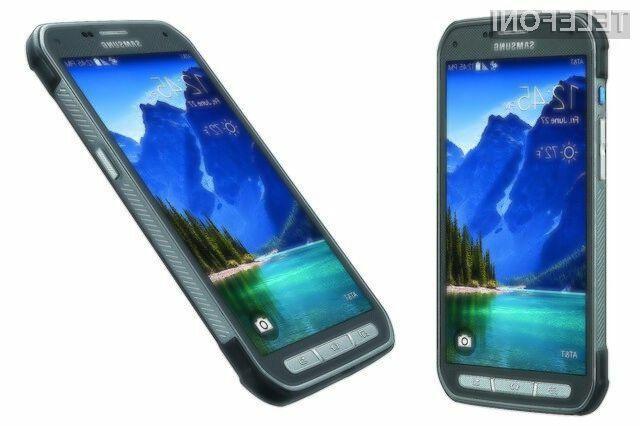 Samsung Galaxy S5 Active naj bi v Evropo prispel konec jeseni.