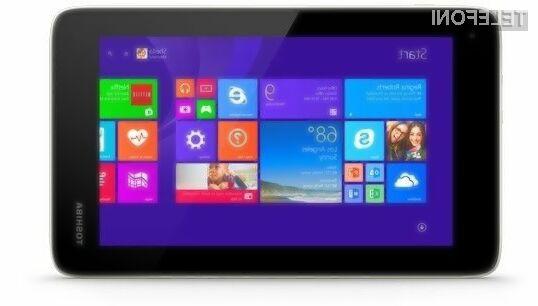 Cenovno ugodni tablični računalnik Toshiba Encore Mini poganja čistokrvni operacijski sistem Windows 8.1 (Bing)!