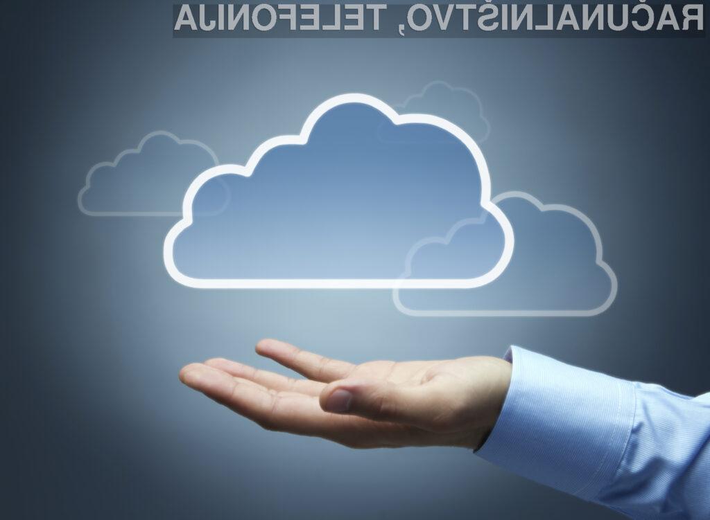 Storitve v oblaku so priložnost tudi za startup in manjša podjetja
