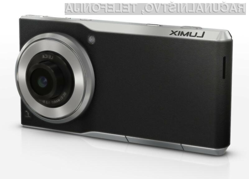 Na kompaktnem digitalnem fotoaparatu Panasonic Lumix DMC-CM1 lahko brez težav poganjamo vse aplikacije za Android!