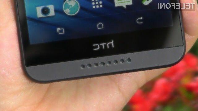 Mobilnik HTC Desire 820 s 64-bitnim procesorjem naj bi bil naprodaj že v prvi polovici jeseni.