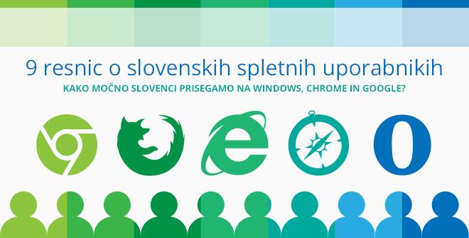 9 resnic o slovenskih spletnih uporabnikih