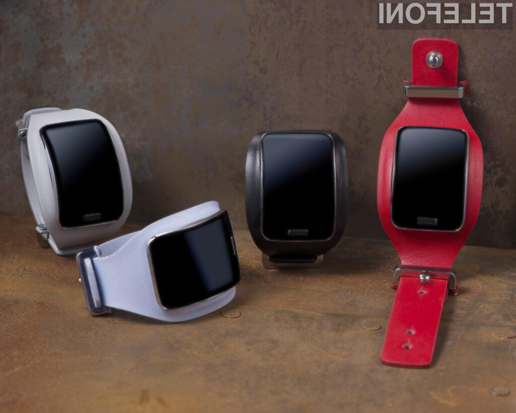 Samsungov Gear S z unikatnimi dodatki na modni reviji znamke Diesel Black Gold