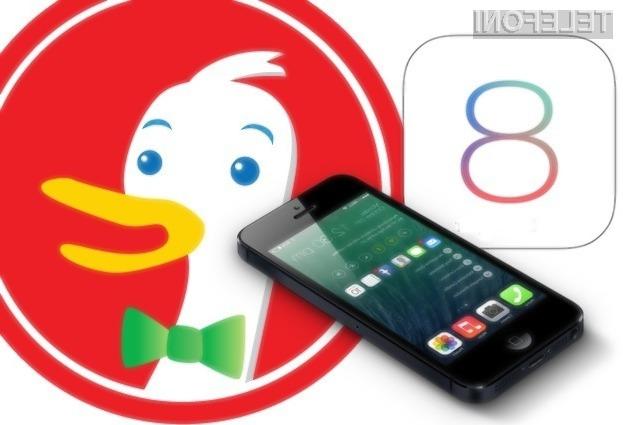 Uporabniki Applovih mobilnih naprav s sistemom iOS imajo odslej na voljo kar tri druge konkurenčne spletne iskalnike!